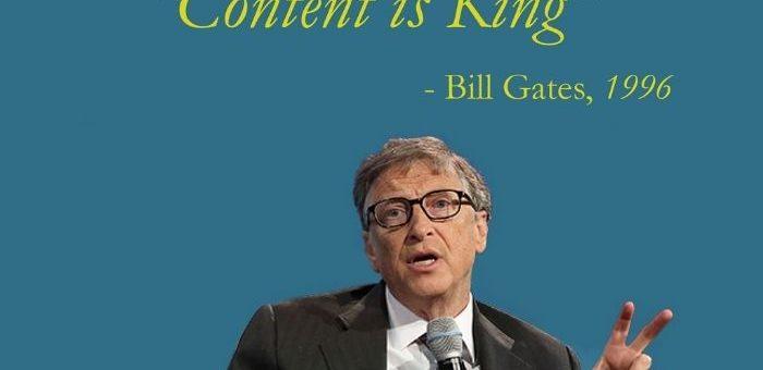 Le contenu est roi : Mythe ou Vérité
