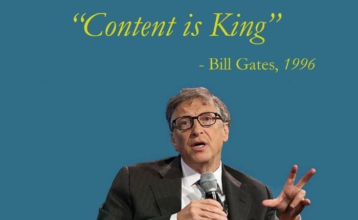 Marketing, le contenu est roi
